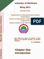 01MEng 4203 - Mechanisms Design - Fall 2012_Lecture 01