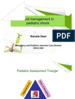 Fluid Management in Pediatric Shock