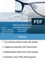 Cambodian Educational History