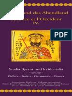 Byzanz Und Das Abendland IV Program