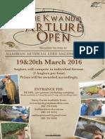 Art Lure Open 2016
