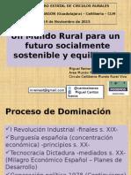 Ponencia Mundo Rural Futuro Sostenible - Miguel Reinares