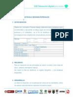 Protocolo Sesiones Especiales. Tic en Educacion