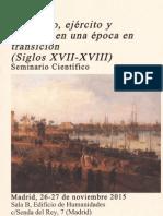 Comercio, ejército y finanzas en una época en transición (Siglos XVII-XVIII) Comercio, Ejército y Finanzas en Una Época en Transición (Siglos XVII-XVIII)