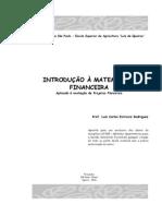 Apostila MatFin Aplicada a Projetos Florestais
