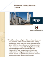 Middle East Oilfields and Drilling Services Market  |Iran Drilling Activities Statistics