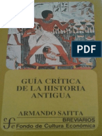 Documents.tips Guia Critica de La Historia Antigua Armando Saitta