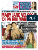 Pinoy Parazzi Vol 8 Issue 139 November 20 - 22, 2015