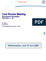 2. Cost Meeting Discussion Document Jun 15