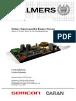 Battery-Supercapacitor Energy Storage