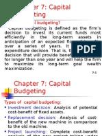 Capital Budgting