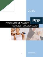 Proyecto de Acción Social Para La Tercera Edad