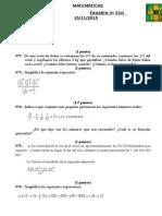 Examen 3 Eso Temas 1 y 2