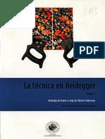 La Técnica en Heidegger - Antología