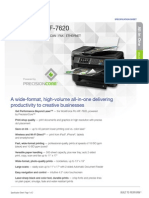 Brochure WF7620