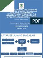 Rasionalitas antibiotik ISPA