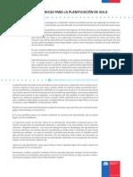 Orientaciones Planificación SATP