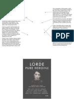 Tour Poster Analysis