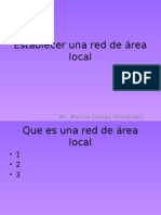 Establecer Una Red de Área Local