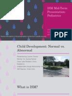 pediatrics ism