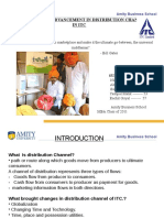 distribution channel technological advancement