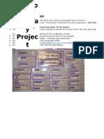 Vocabulary Wall Pocket