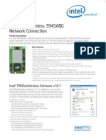 Pro Wireless 3945abg Network Connection Brief