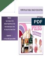 Cover Portofolio PHBS