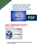Tutorial instalar Windows XP en Oracle Virtual Box