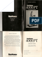 Stair Master 4000 PT - 1990 Version