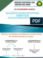 Balance de Materia de Contaminantes