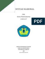 Identitas Nasional(Awal Kt Pengantar)