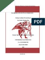 Derecho Procesal Administrativo-UAP