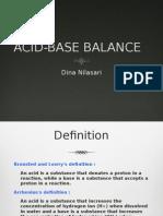 Acid Base Balance-dina