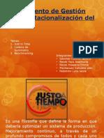 Instrumento de Gestión Para La Racionalización Del Trabajo Expo