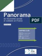 Panorama de l'ESS 2015 en France