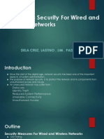 Increasing Security for Wired and Wireless Networks