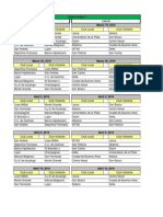 Torneo de la URBA - Fixture Grupo 2 - 2016