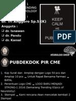 PIR CME Pubdekdok