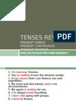 Tenses - Revision