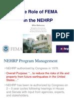 FEMA earthquake