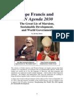 Pope Francis and UN Agenda 2030