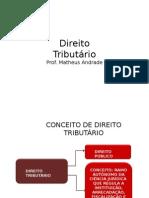 Noções de Direito tributario