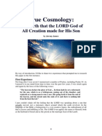 True Cosmology - The Earth the LORD Made