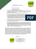 Comunicado 001 - 11 2015 PDF