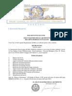 Decreto Per La Convocazione Gl Rito 2015