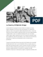 La Guerra y El Ejército Griego