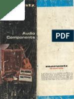 Marantz Audio Components Brochure 1977