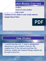 Steps 4 Analyzing Case Studies