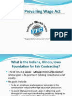 2013 III-FFC Illinois Prevailing Wage Act Presentation